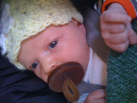 Z with Pacifier